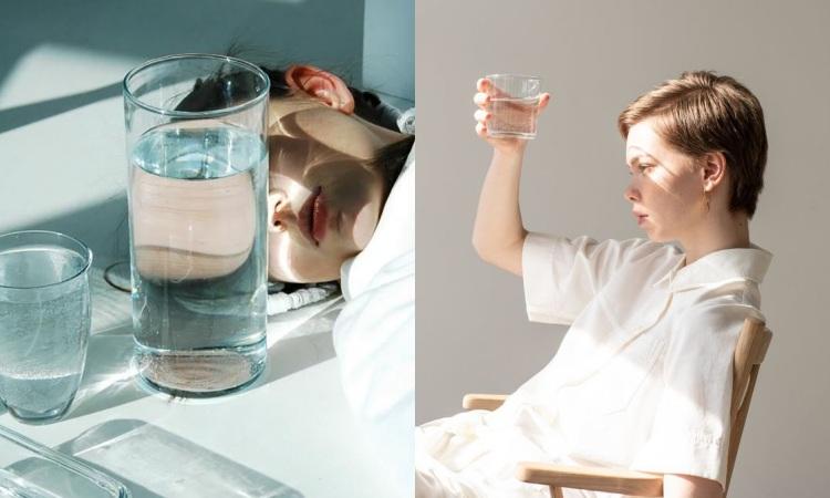 因為讀書、工作相當忙綠而忘記喝水的你,其實少喝水也是衍生黑眼圈的主要原因之一