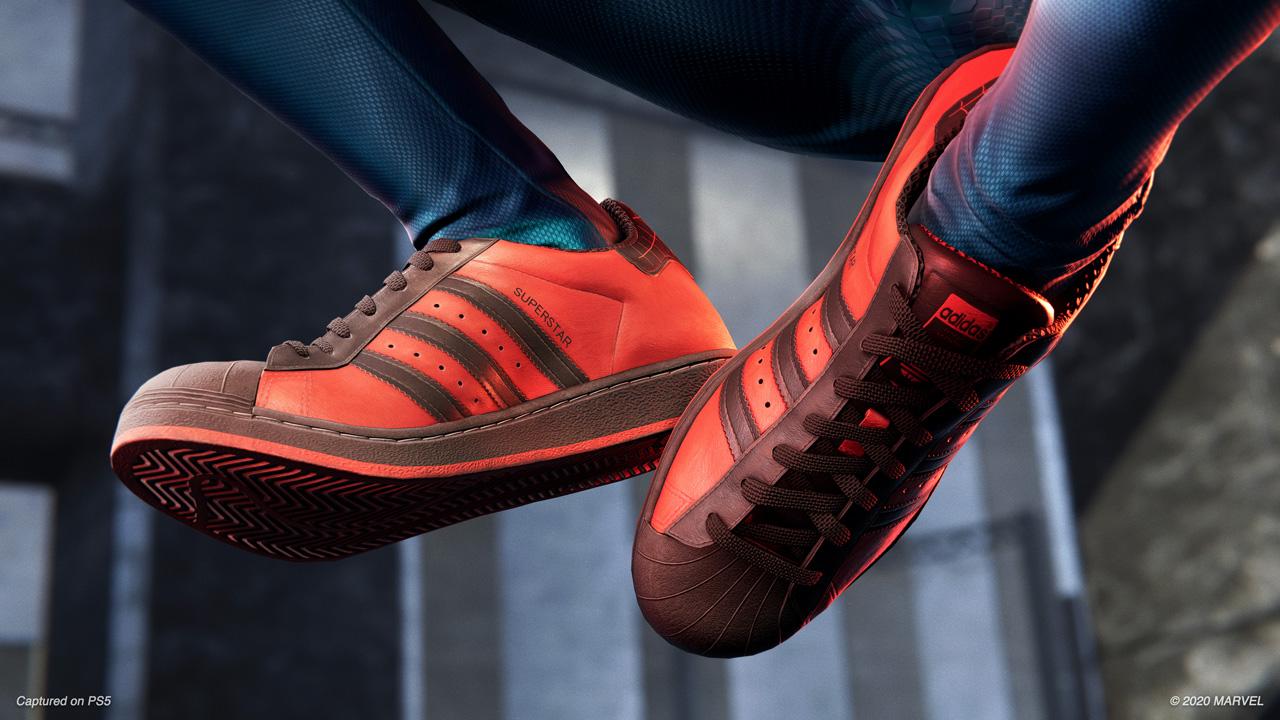 Adidas Superstar Spider-Man: Miles Morales Edition