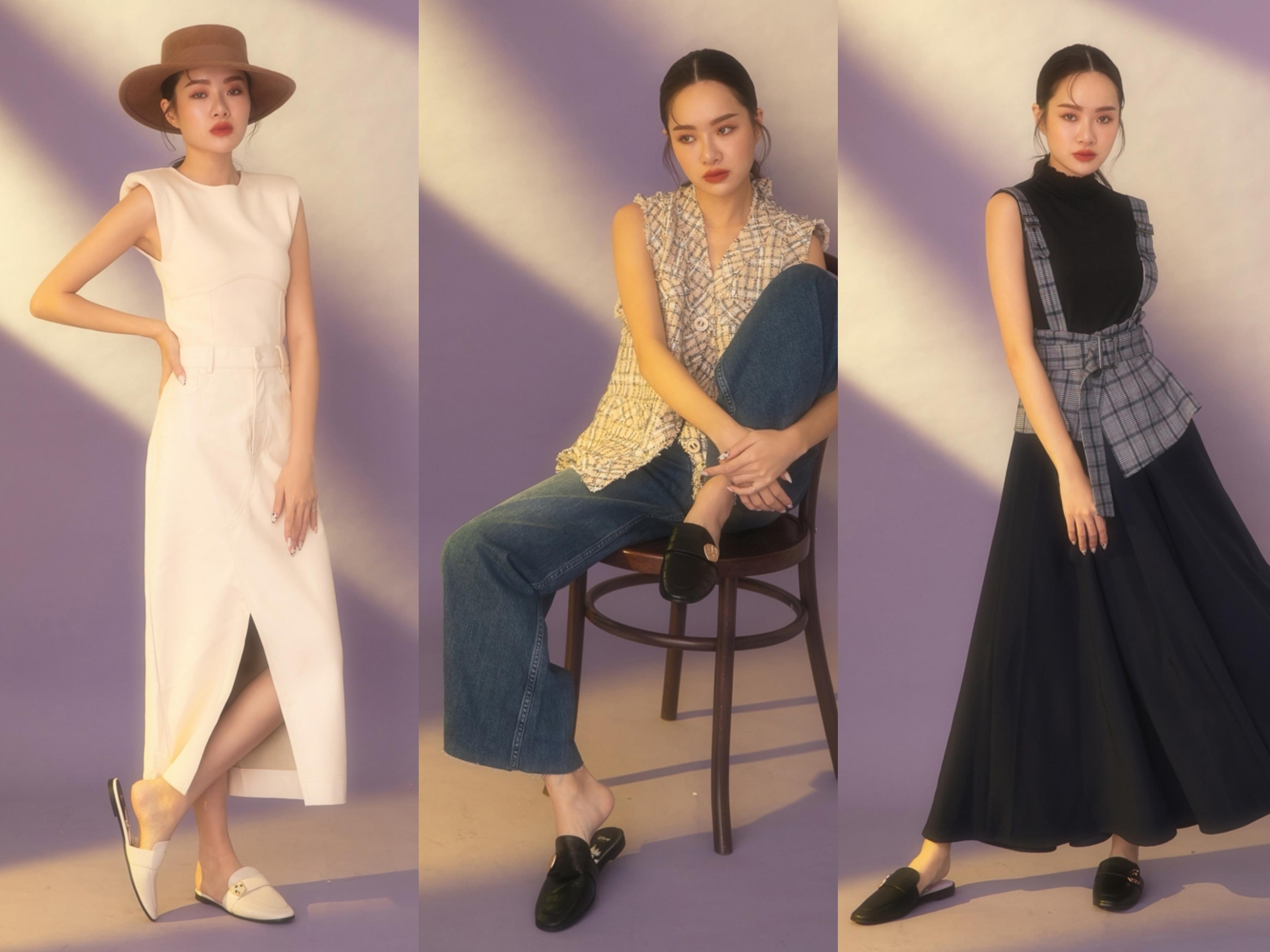 歐美時尚雜誌百搭穆勒鞋鞋款,精緻角色專屬五金飾釦質感加倍