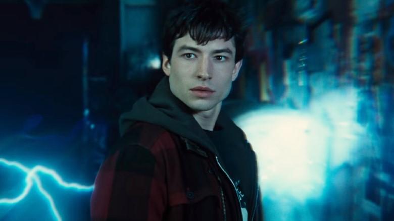 伊薩米勒在《正義聯盟》裡面飾演「閃電俠」。圖/劇照,摘自推特