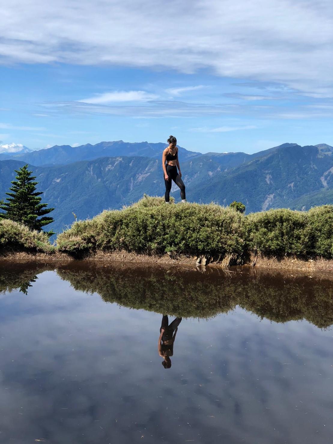 ▲登山路途中可以欣賞到向陽名樹、黑水塘等景點,讓房思瑜非常難忘。