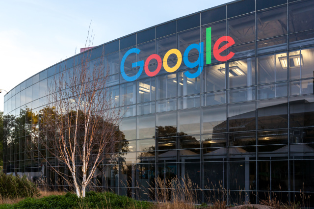 Mountain View, California, USA - March 28, 2018: Google sign at Google's headquarters in Silicon Valley. Google is an American technology company.