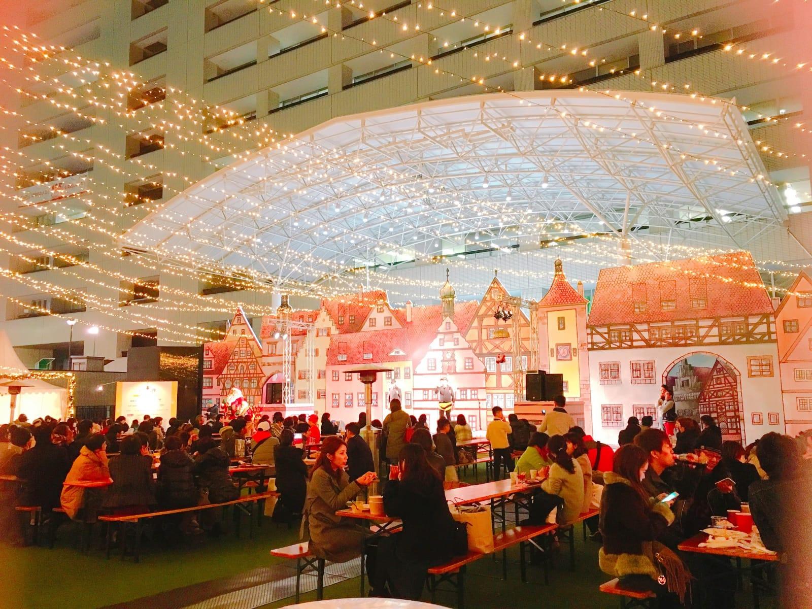 ▲曾去日本度過聖誕節的康茵茵,讓她直呼真的非常有過節氣氛。