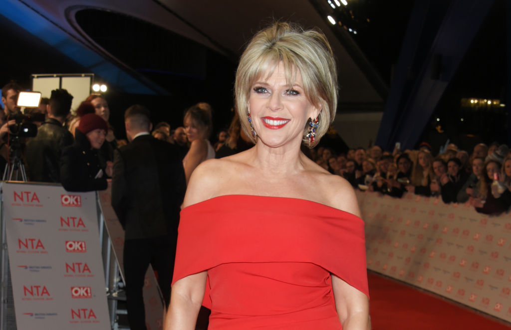 Ruth Langsford has shared a top tip for present wrapping this Christmas, pictured in January 2018 (Getty Images)