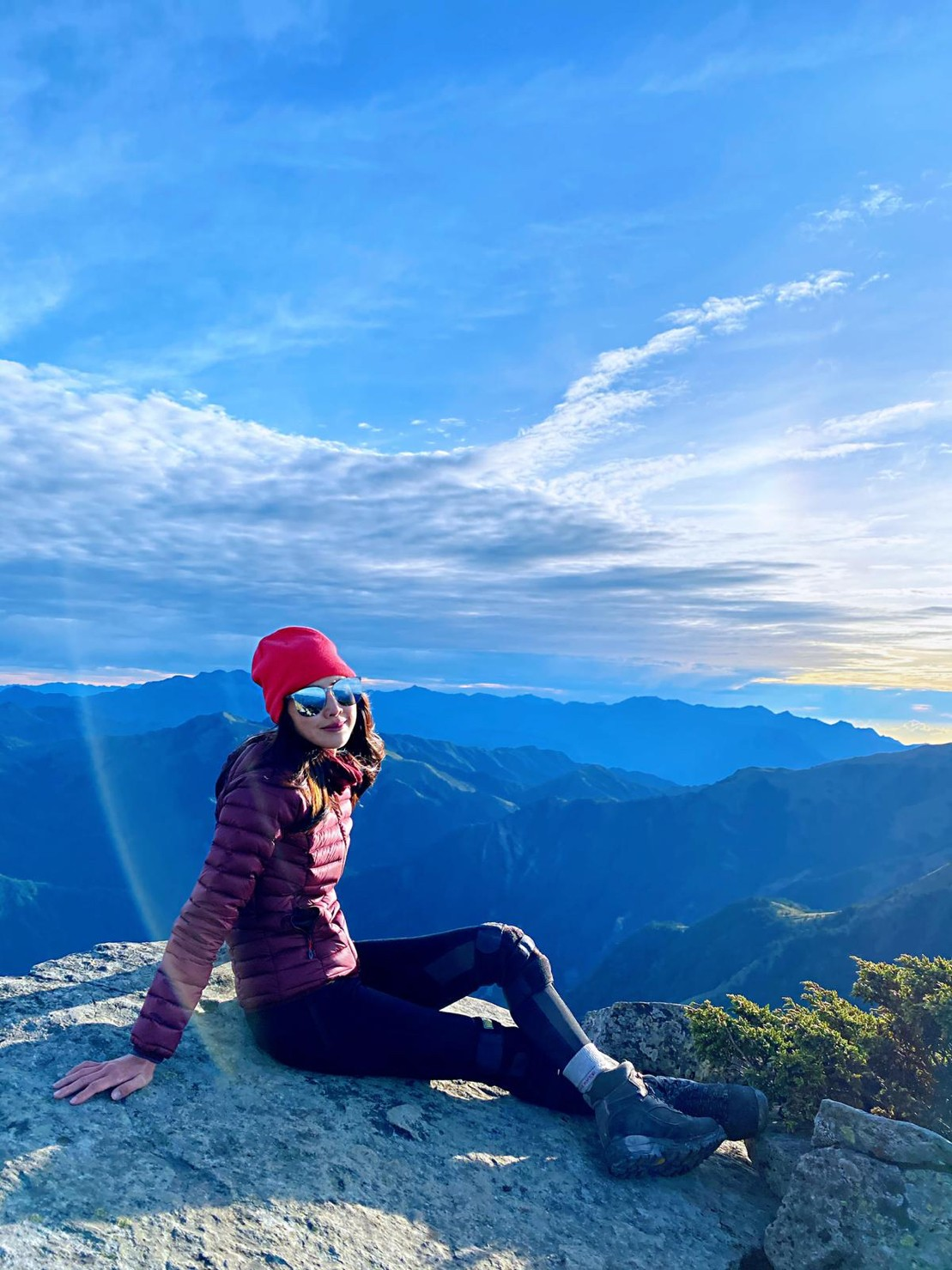 ▲房思瑜建議,若是初學者想挑戰百岳,可以從合歡山開始。